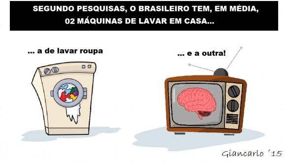 por Giancarlo Moser — lavagem cerebral pensamento propaganda tv
