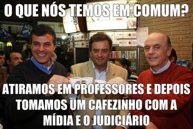 PSDB tucano protesto mídia justiça