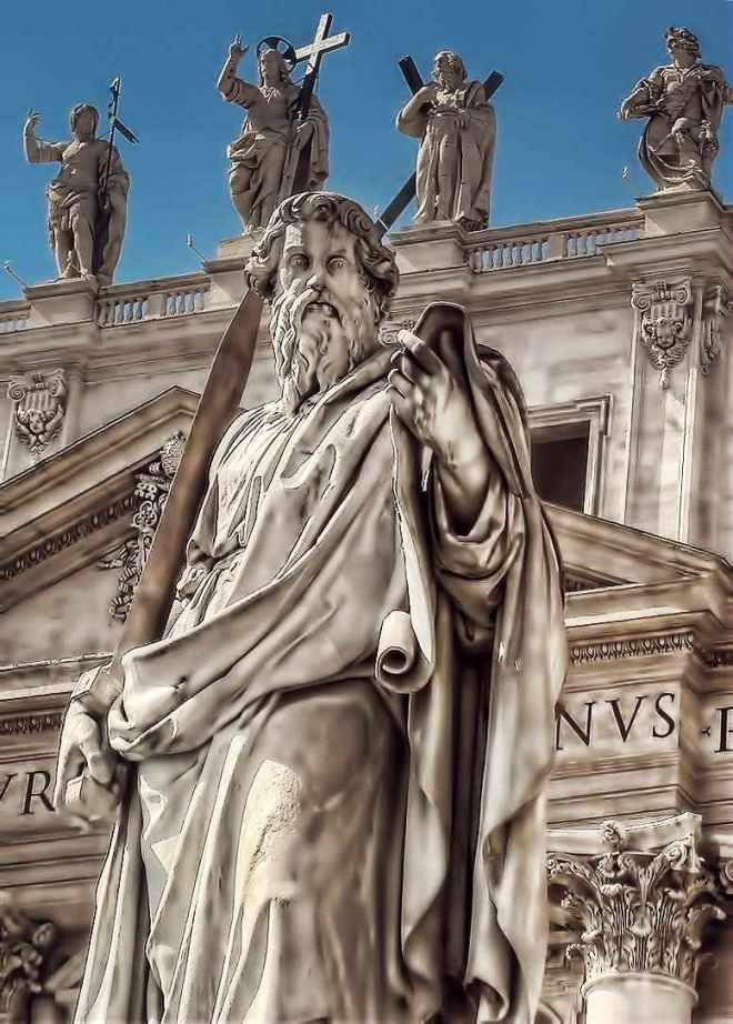 Estátua de São Paulo, Vaticano