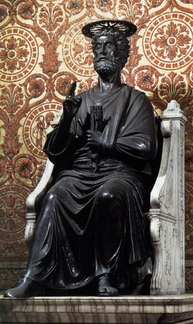 São Pedro, estátua Vaticano