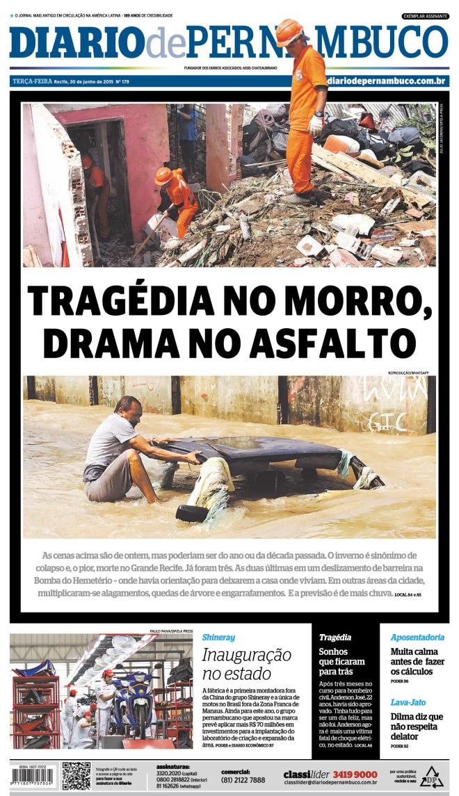 tragedia morro drama asfalto