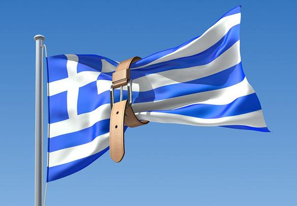 bandeira grécia com cinturão