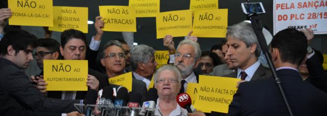 Deputados dizem não a Eduardo Cunha