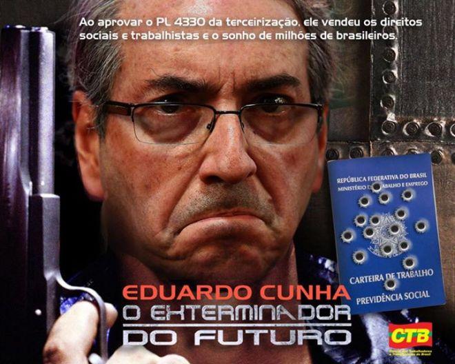 Eduardo Cunha exterminador futuro