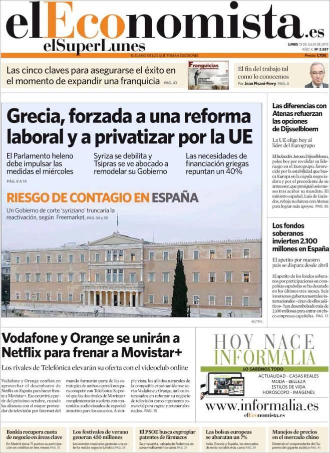 eleconomista. reforma laboral e privatizar