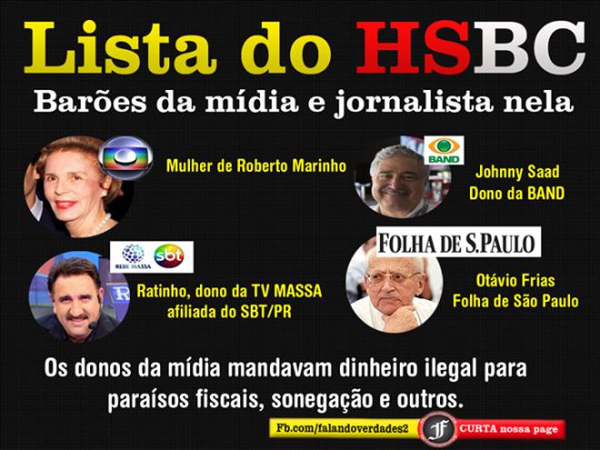 HSBC mulher roberto marinho e mídias