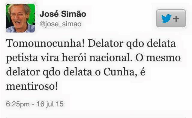 josé Simão delator