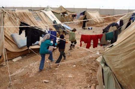 Campos de refugiados palestinos no Líbano