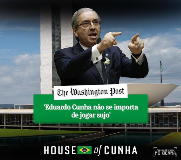Eduardo Cunha joga sujo