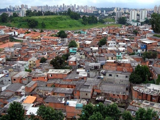 Favela do Jardim Jaqueline, na Zona Oeste de São Paulo