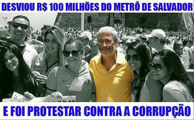 corruptos contra corrupção prefeito salvador tucano