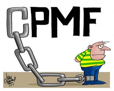 Mais do que um imposto um CPMF é a melhor armadilha para pegar ladrão do dinheiro público. Como aconteceu com o fim do cheque ao portador
