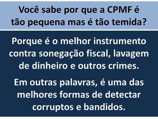 CPMF temida