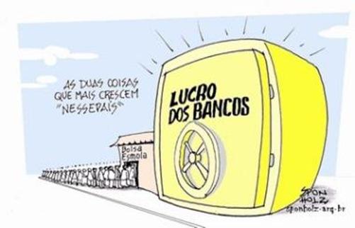 lucro bancos remessa