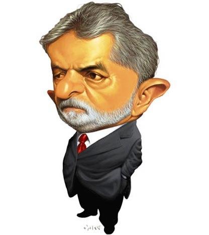 Lula cartoon