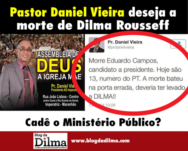 morte dilma Pastor-Daniel-Vieira