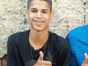 Eduardo Felipe Santos Victor, 17 anos. Foto Facebook