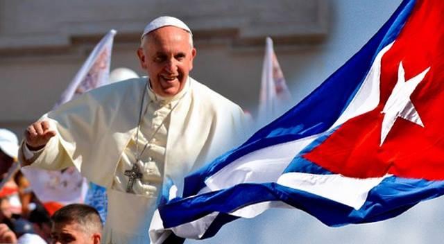papa cuba bandeira