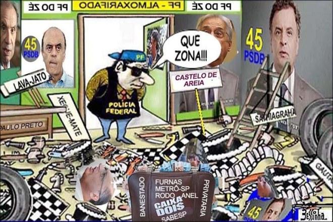 PF do tucano PSDB
