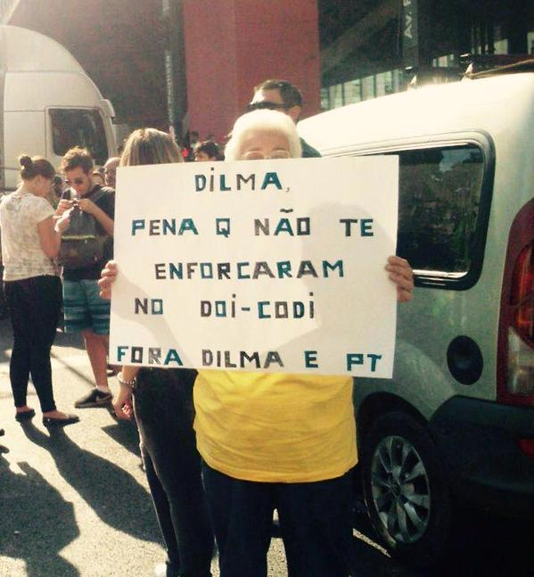 protesto dilma