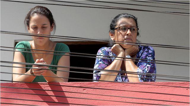 Sem teto, moradora de favela em São Paulo