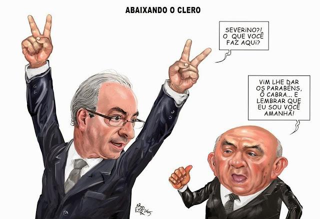 Eduardo Cunha e Severino Cavalcanti, os presidentes do baixo clero
