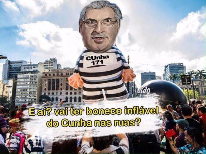 boneco Cunha