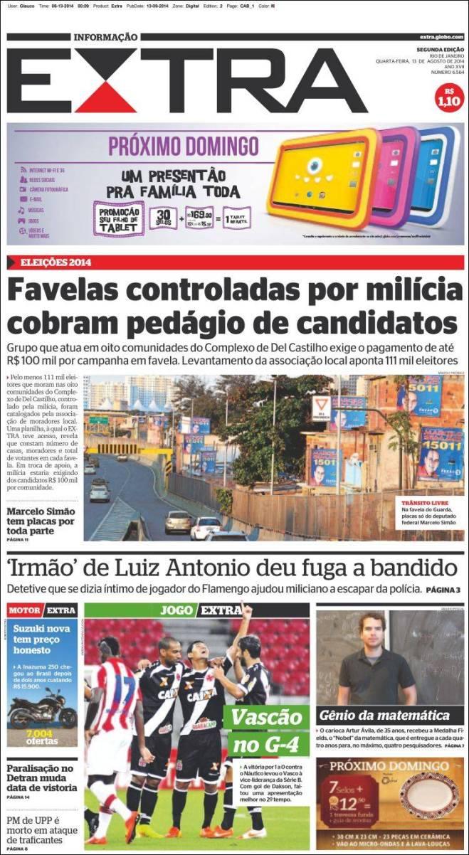 br_extra. pedágio nas favelas