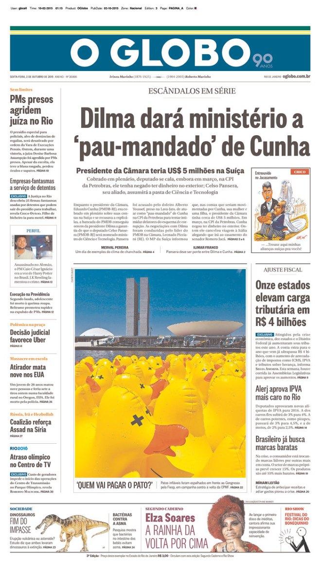 BRA_OG ministo pau mandado Cunha Saúde