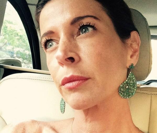 Claudia Cruz, a esposa de Eduardo Cunha, optou por uma vida de luxo eperdulária