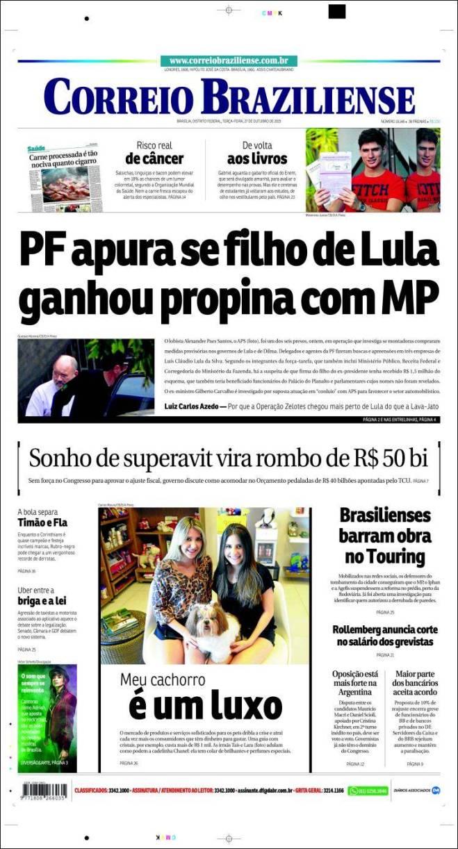 correio_braziliense. operação Zelotes lulinha
