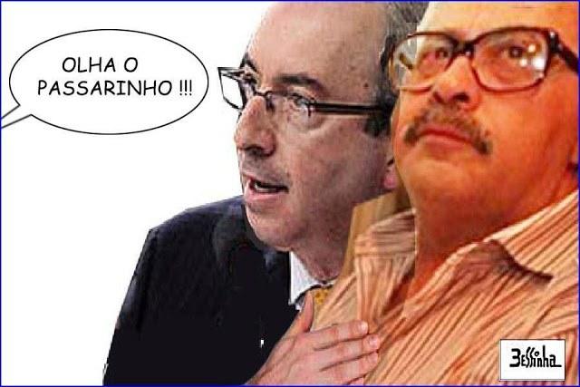 Cunha e seu primeiro padrinho político PC Farias