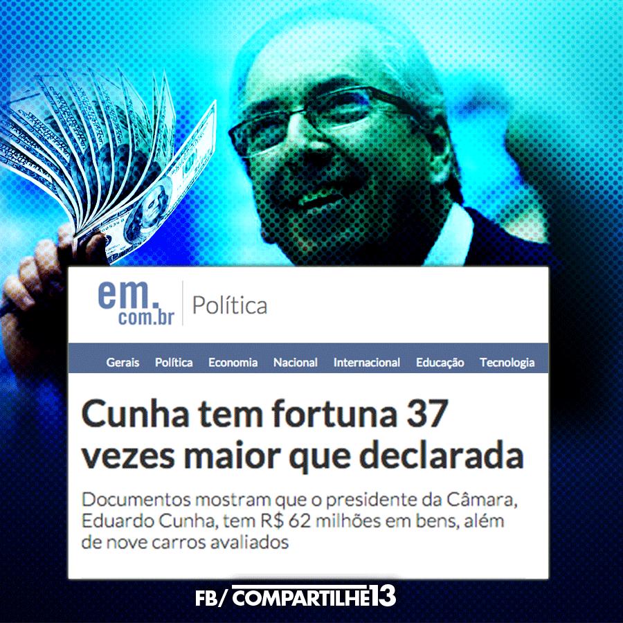 Resultado de imagem para MINISTÉRIO PÚBLICO PEDE QUE CUNHA DEVOLVA US$ 77,5 MILHÕES À PETROBRAS: charges