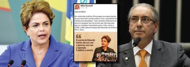 dilma lamenta cunha ser brasileiro