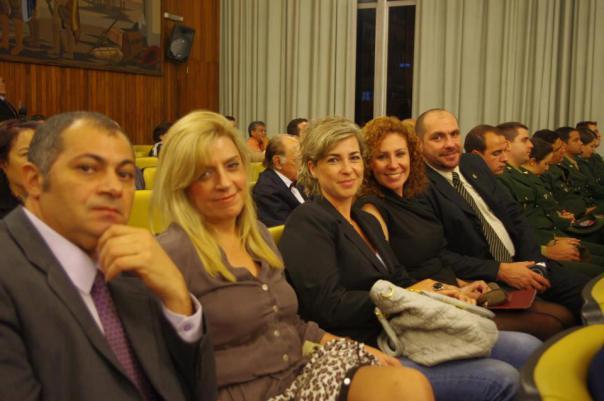 Mary Marigliano junto á Carla Zambelli do Nas Ruas,Marcos Maher e Marcello Reis fundador do Revoltados Online.