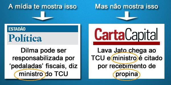 ministros nardes Propina pedaladas Dilma