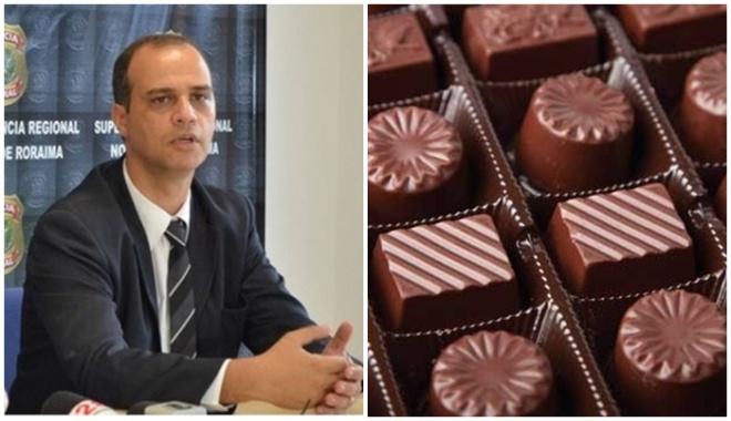 O delegado da PF Agostinho Cascardo (foto) prendeu uma faxineira por causa de um chocolate