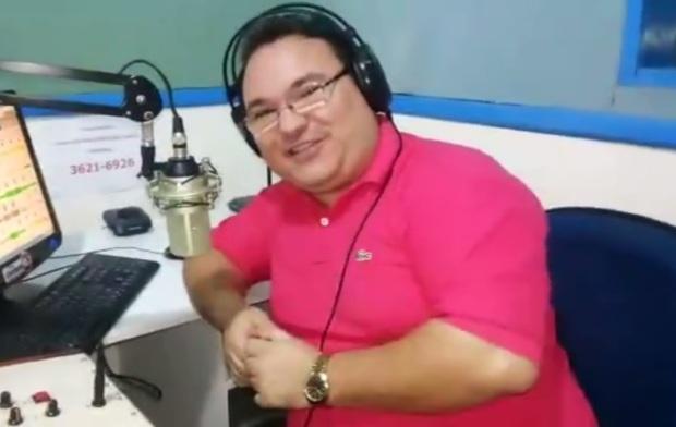 Radialista Gleydson Carvalho