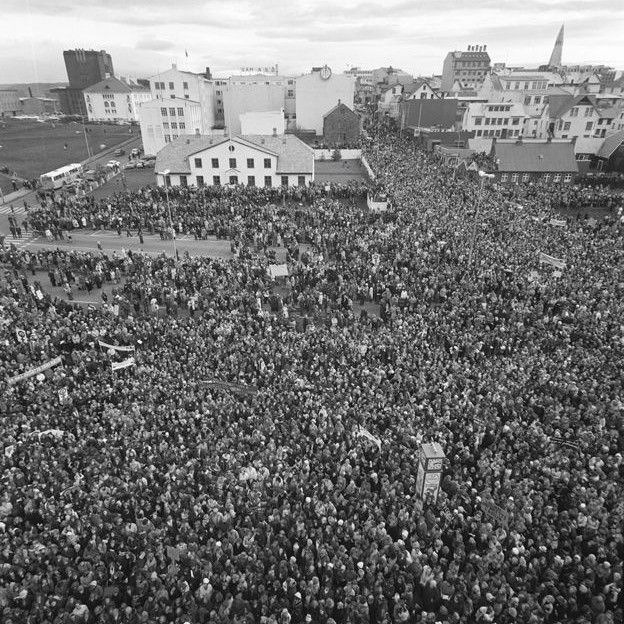 greve das mulheres islândia