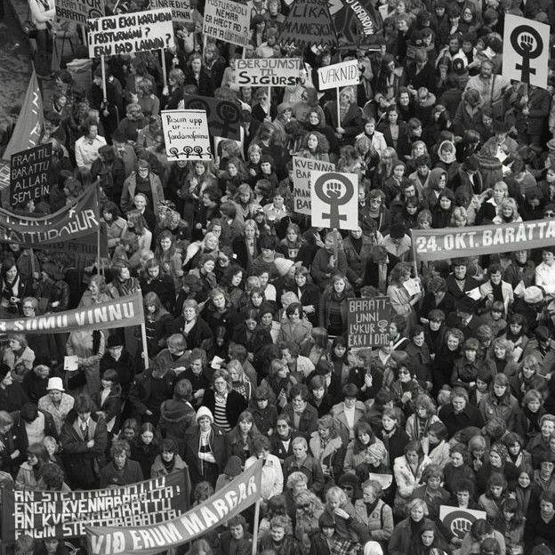 """Ideia de greve foi proposta por movimento radical de mulheres, mas foi adotada amplamente ao ser batizada como """"dia de folga"""""""
