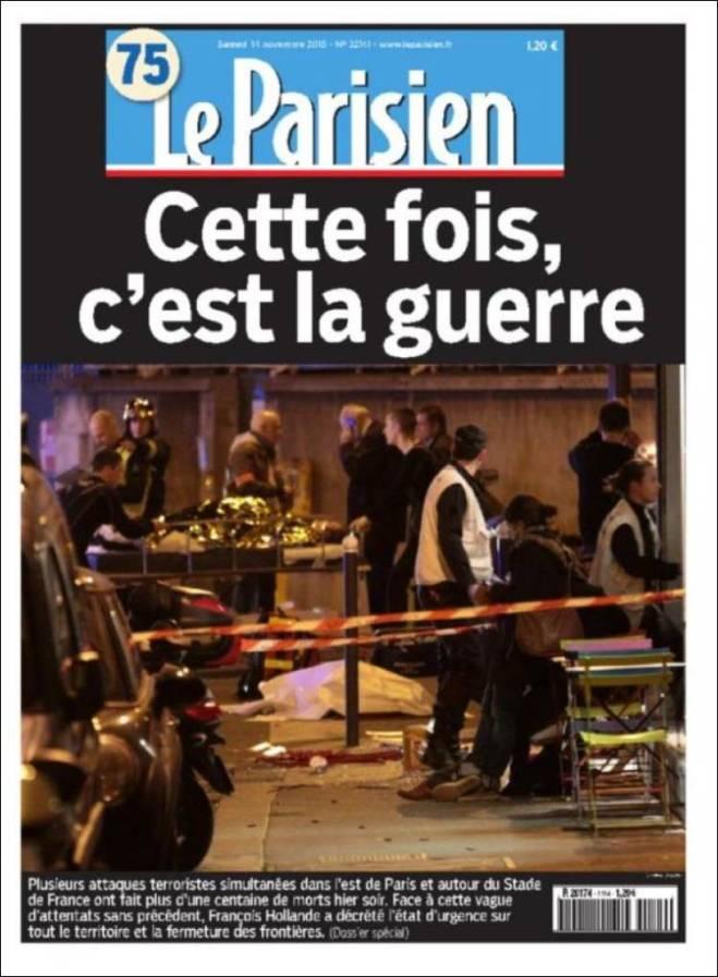 parisien. frança guerra